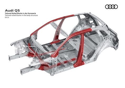 audi  body structure boron extrication