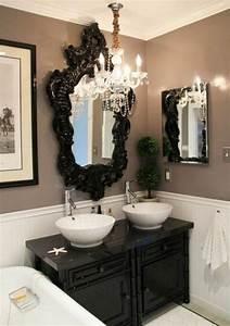 Miroir Baroque Noir : salle de bain baroque d co sphair ~ Teatrodelosmanantiales.com Idées de Décoration