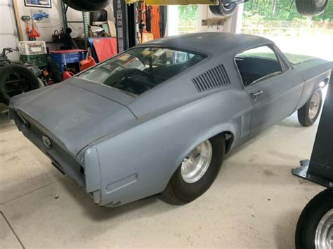 mustang fastback pro street roller tubbed classic