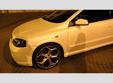 WHITE MATTE OPEL ASTRA G CABRIO oxigin wheels R1 YouTube