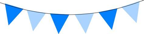 blue bunting blue clip art at clker com vector clip art