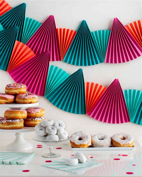 easy festive paper fan bunting  perfect