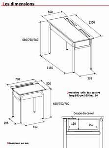 hauteur standard table de cuisine dootdadoocom idees With hauteur standard table a manger