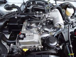 2004 Toyota Tacoma Xtracab 4x4 2 7l Dohc 16v 4 Cylinder Engine Photo  53424298