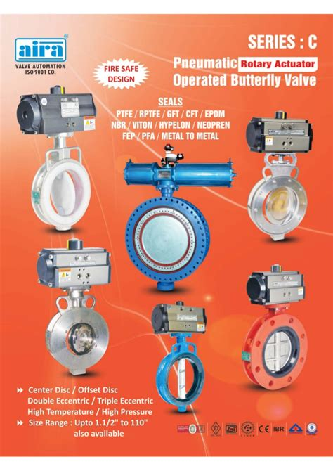 pneumatic valves exporter manufacturer distributor manufacturer exporter of pneumatic butterfly valves