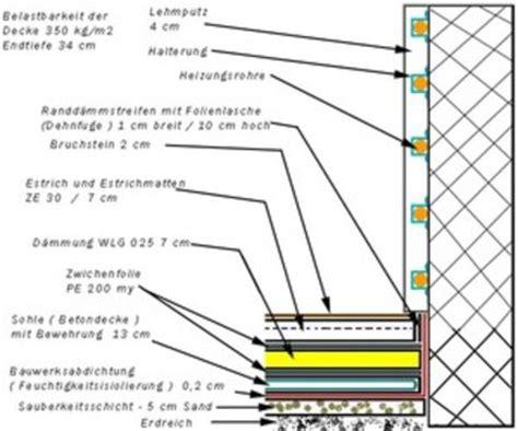 bodenaufbau fußbodenheizung neubau fu 223 bodenheizung aufbau ma 223 e moderne konstruktion