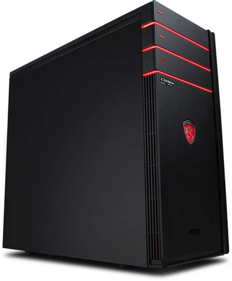 msi ordinateur de bureau msi codex 3 vr7rc 010eu 9s6 b91311 010 achat ordinateur