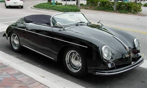 Replica Porche 356 by Replica Black 1956 Porsche 356 Speedster Aucton Results