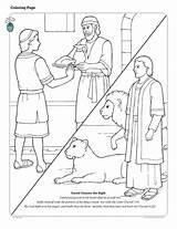 Coloring Lds Daniel Den Bible Meat Lion Lions Friend Testament Neues Story Mormon Ausmalbilder Clipart Books Stories Text Holamormon Fix sketch template