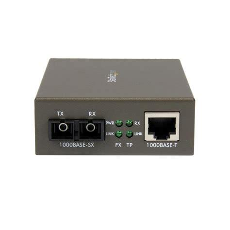 convertisseur gigabit ethernet fibre optique sc multimode