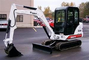 Bobcat 331 331e 334 Mini Excavator Service Repair Workshop Manual 232511001