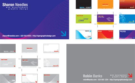 business card templates  vector illustrator eps