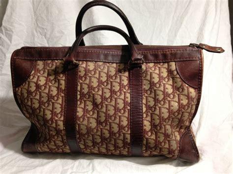 christian dior burgundy monogram speedy bag