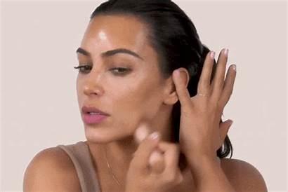 Kardashian Kim Makeup Rosto Beleza Produtos Tutorial