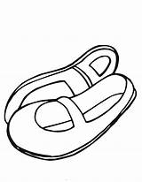 Coloring Shoes Shoe Clipart Booties Cartoon Ballet Clip Drawing Slippers Ballerina Cliparts Princess Buckle Japanese Library Worksheets Getdrawings sketch template