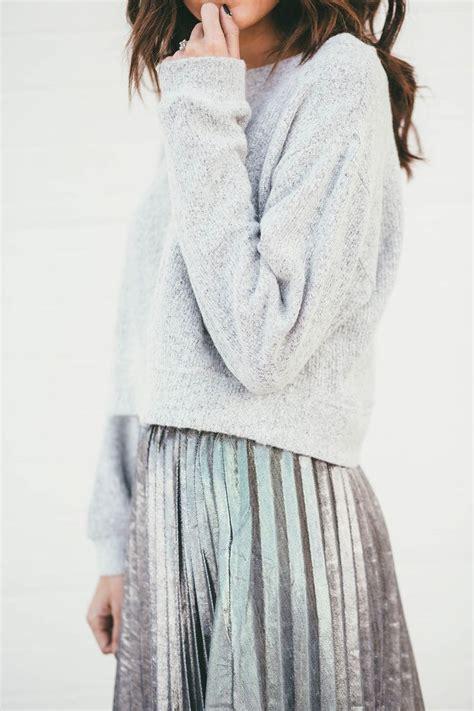 Best 25 Metallic Skirt Ideas On Pinterest