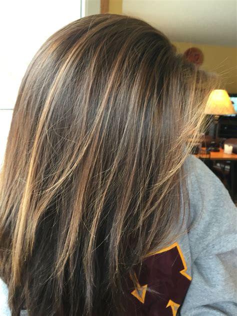 hair color ideas  brunettes highlights  brunette