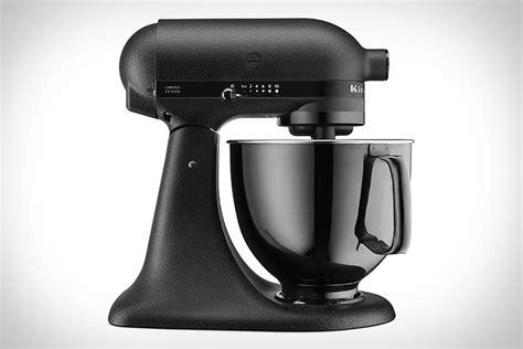 kitchenaid artisan black tie mixer uncrate