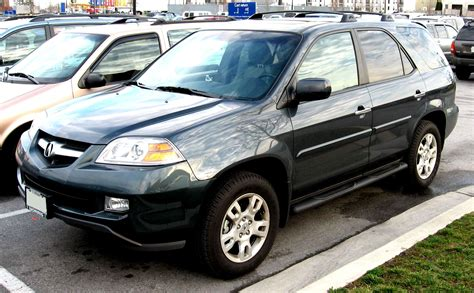 2006 Acura Mdx Tire Size by Acura Mdx 2004 On Motoimg