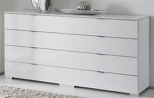 Kommode Weiß Hochglanz Schlafzimmer : staud sonate schlafzimmer kommode sideboard weiss mit ~ Bigdaddyawards.com Haus und Dekorationen