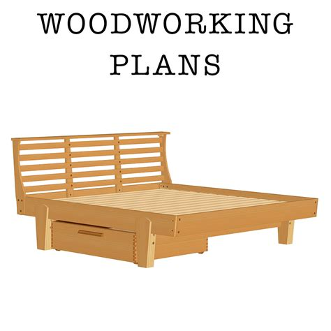 askwoodman platform bed  drawer verysupercool tools