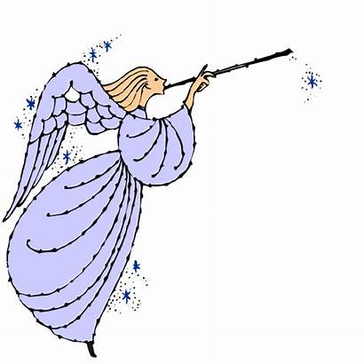 Clip Christmas Angel Angels Clipart Cliparts Cartoon