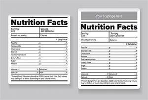 20 food label templates free psd eps ai illustrator With nutrition facts table template