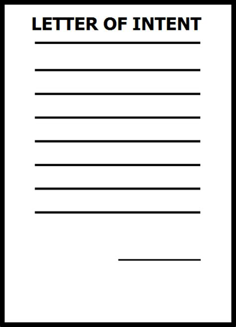 letter  intent   step   restaurant lease