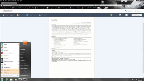 Free Trial Resume Builder by How To Make A Resume On Resume Builder For Free