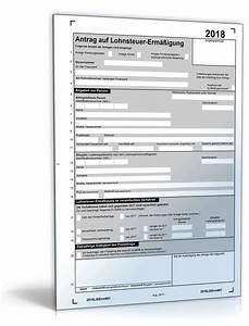 Antrag auf lohnsteuerermassigung 2018 formular zum download for Lohnsteuerformular