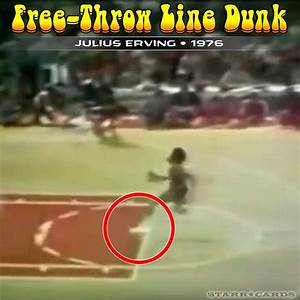 Free-throw line dunks with Dr. J, Michael Jordan, Zach ...