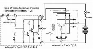 Cav 440 Regulator Wiring