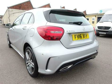 This mercedes a200 is stunning and comes with great extras such as amg night pack, heated seats, parking sensors and more! 2016 16 REG MERCEDES BENZ A CLASS A200 AMG LINE DIESEL DAMAGED SALVAGE   in Ilkeston, Derbyshire ...