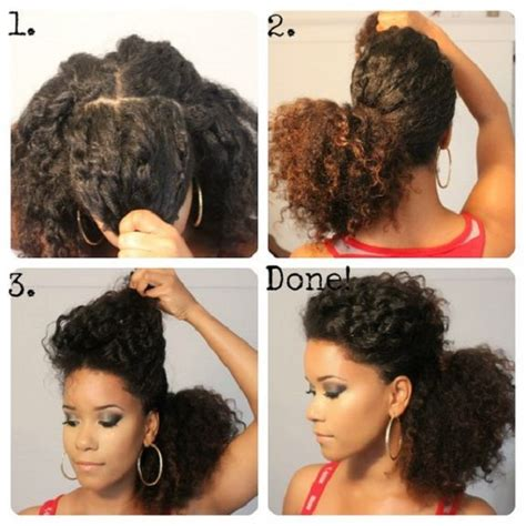 8 Quick And Easy Hairstyles On Medium Short Natural Hair