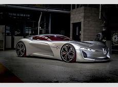 Renault Trezor concept car revealed in Paris pictures