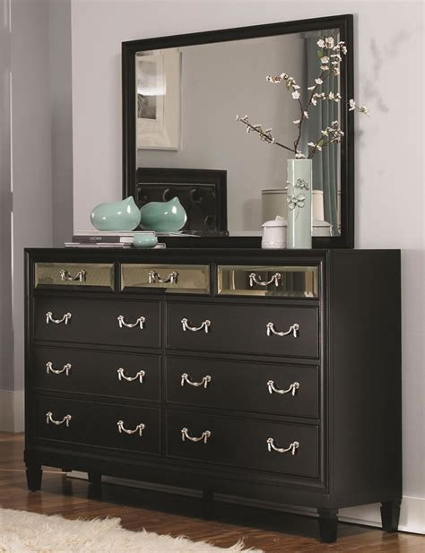 Bedroom Dressers For Less by Black Mirrored Dresser Bestdressers 2017