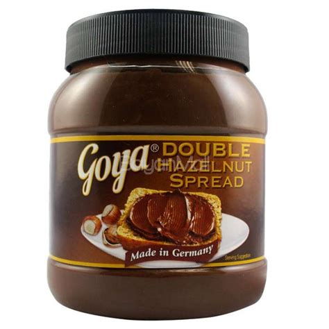 Sheets For Sofa Bed Mattress by Goya Double Hazelnut Spread 750g