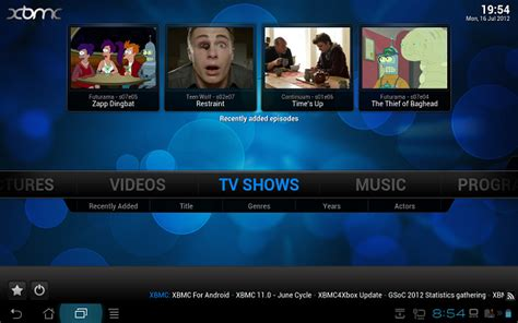 xbmc for android xbmc