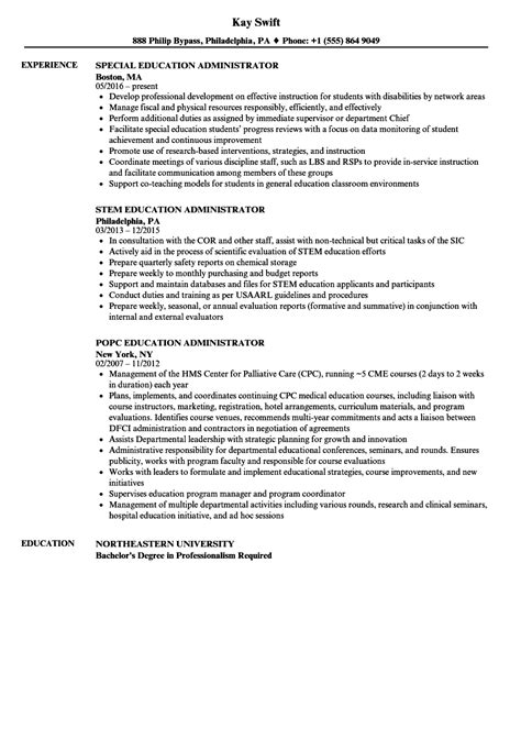 resume for school administrator sample resume for school administrator sample resume