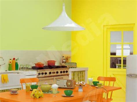 cuisine jaune et verte cuisine verte et jaune
