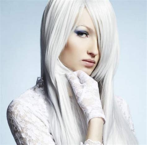 Hair Color White by Hairchalk With Shades Of White Set Of 6 Hair Color Sticks