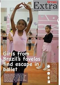 Girls from Brazil's favelas find escape in ballet | MACAU ...