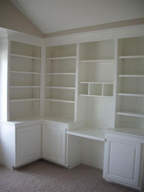 built in desk and bookshelves built in shelves and desk bedroom storage pinterest