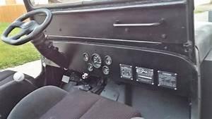 Cj2a Dash Willys Mb Dash Cj3b Dash