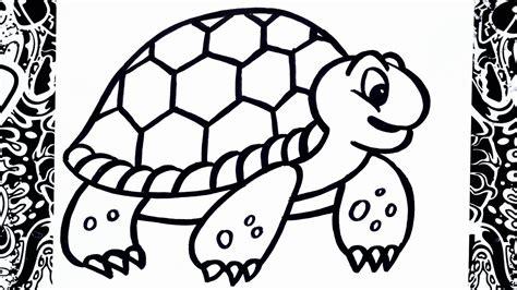 como dibujar una tortuga   draw turtle youtube
