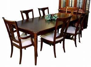 7 piece dining room table and chair set ebay With table and chairs dining room