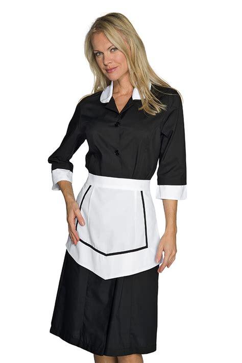 blouse femme de chambre ensemble femme de chambre blouse et tablier noir et blanc