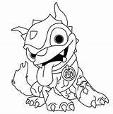 Pages Skylander Coloring Skylanders Dog Colouring Giants Giant Iron Walmart Imaginators Clipart Thumpback Printable Spyro Drawing Wrecking Ball Sheets Dragon sketch template