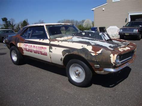 chevrolet camaro vintage race car project  sale