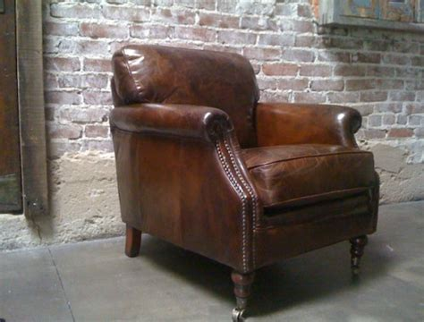 new arrivals distressed leather chairs found vintage